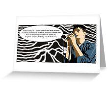 Disorder Greeting Card