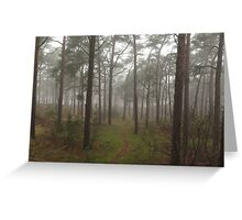 Baltic Trees Greeting Card