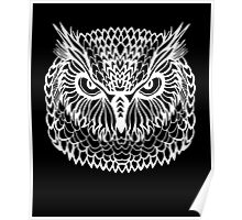 Funny Owl Bird Lovers Quote Gift, Intense Owl Teen Poster