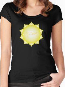 Manipura Chakra - Asana Women's Fitted Scoop T-Shirt