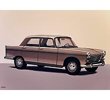 Peugeot 404 Painting Photographic Print
