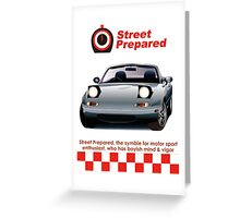 Japanese Classic roadster  Greeting Card