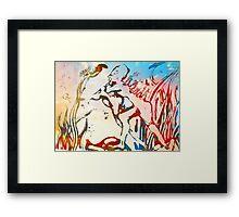 Grass Sprite Framed Print