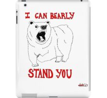 Animals Are Mean: Bear iPad Case/Skin