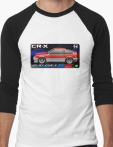 Light weight sports, CRX Si-R Men's Baseball ¾ T-Shirt