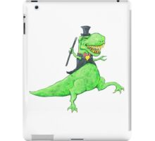 T-Rex in Top Hat and Tails iPad Case/Skin