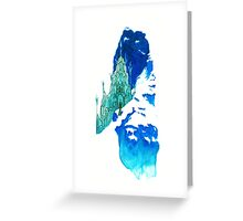 Crystallize Greeting Card