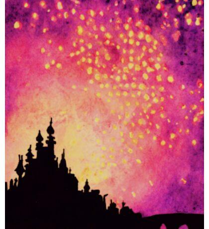 The Lanterns Sticker