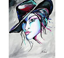 Billie Jean - Cowgirl Art by Valentina Miletic Photographic Print