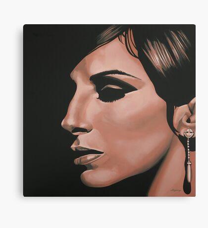 Barbra Streisand painting Canvas Print