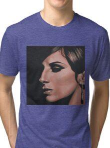 Barbra Streisand painting Tri-blend T-Shirt