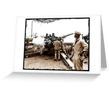 African American Soldiers WWII Greeting Card