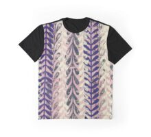 Vine Pattern - Pink 2 Graphic T-Shirt