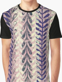Vine Pattern - Pink 2 Graphic T-Shirt