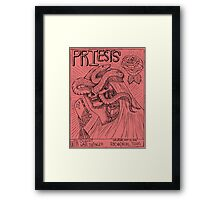 Priests, Ought, Wave Swinger @RBC in Dallas red Framed Print