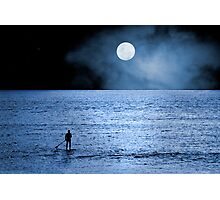 Alone at Sea Photographic Print
