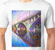 Colorful Bridge Unisex T-Shirt