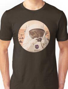 Astronaut Cat on Mars Unisex T-Shirt
