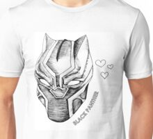 Black Panther Love Unisex T-Shirt