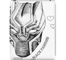 Black Panther Love iPad Case/Skin