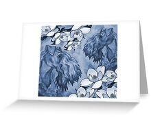 Very Kerry Blue Greeting Card
