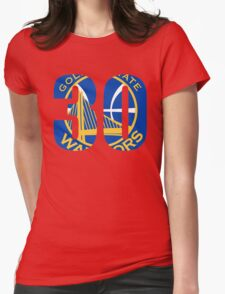 Steph Curry - Golden State Warriors 30 Womens Fitted T-Shirt