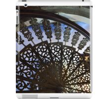 Iron stairs, blue Mansion iPad Case/Skin