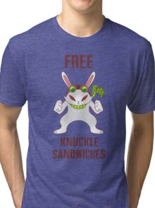Free Knuckle Sandwiches Tri-blend T-Shirt