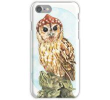 Strange Tawny Owl iPhone Case/Skin