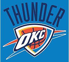 OKC Thunder Photographic Print