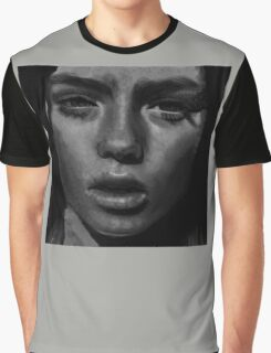 sultry model. Graphic T-Shirt