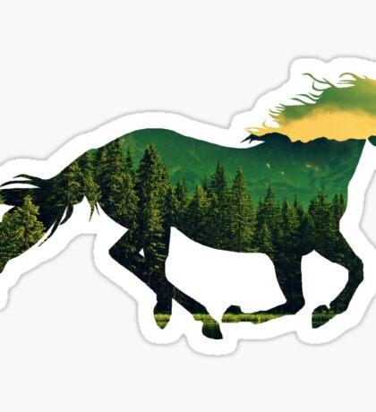 Run Forest  Sticker
