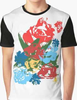 Rose Bouquet Graphic T-Shirt