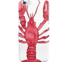Lobster Watercolor iPhone Case/Skin