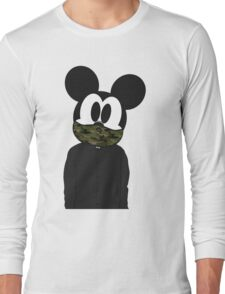 Hipster mickey Long Sleeve T-Shirt