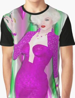Marilyn in modern digital art Graphic T-Shirt
