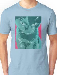 Cyan Cat Unisex T-Shirt