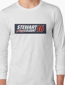 Stewart & Colbert 2016 Election Long Sleeve T-Shirt