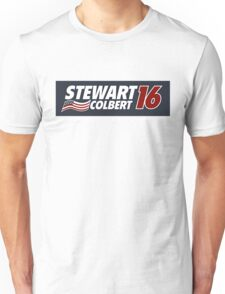 Stewart & Colbert 2016 Election Unisex T-Shirt