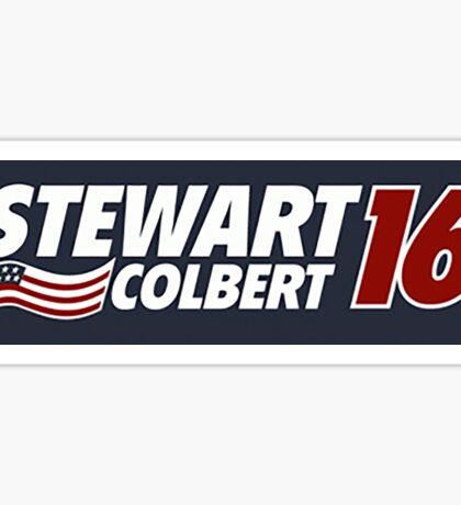 Stewart & Colbert 2016 Election Sticker