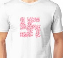 Swastika with Birds of Peace Symbol Unisex T-Shirt