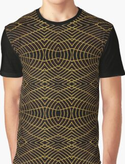 Futuristic Geometric Design Graphic T-Shirt