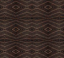 Futuristic Geometric Design by DFLC Prints
