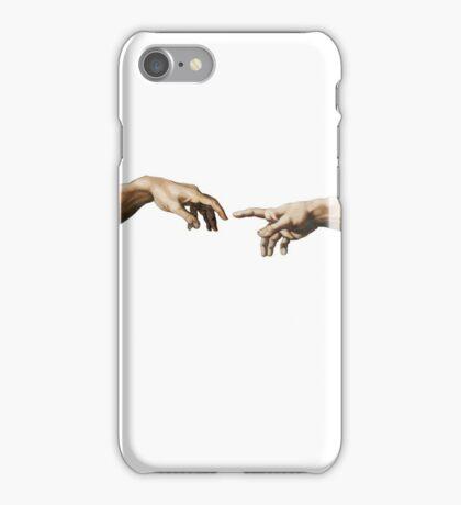 creation of adam iPhone Case/Skin