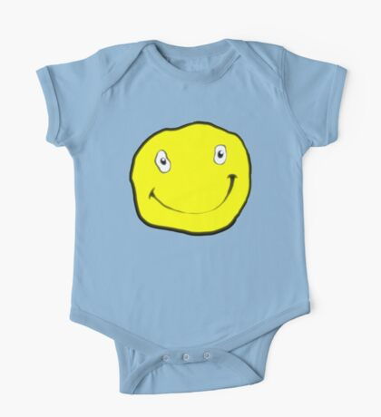Happy Dumb Face One Piece - Short Sleeve
