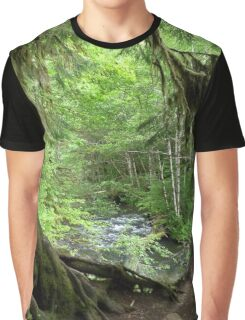 Through the Moss Covered Trees Graphic T-Shirt