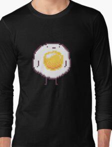 Standing Egg Pixel  Long Sleeve T-Shirt