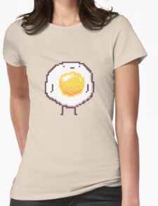 Standing Egg Pixel  Womens Fitted T-Shirt