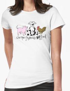 Friends not Food! Womens T-Shirt