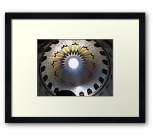 The Dome Above the Sepulchre Framed Print